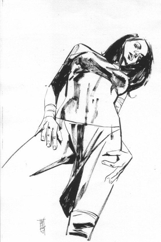 Comic Figure Drawing