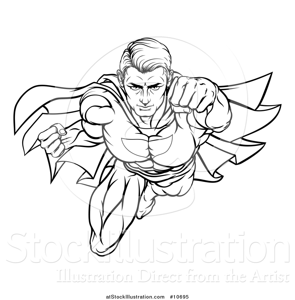 1024x1044 Vector Illustration Of A Black And White Lineart Pop Art Comic