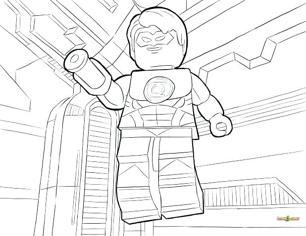 618x478 Dc Comic Coloring Pages Synthesis.site