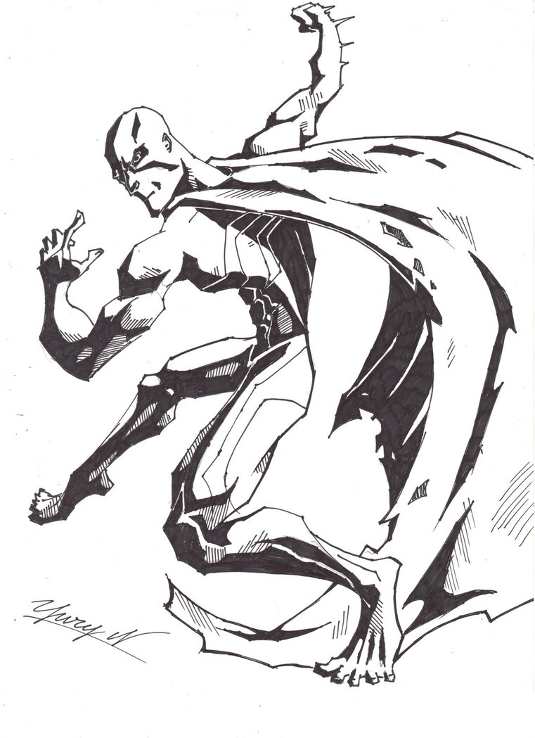 761x1049 Unidentified Comic Book Hero By Alphalifeform