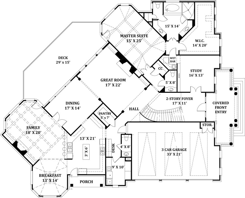 Commercial Building Drawing at GetDrawings.com | Free for personal ...