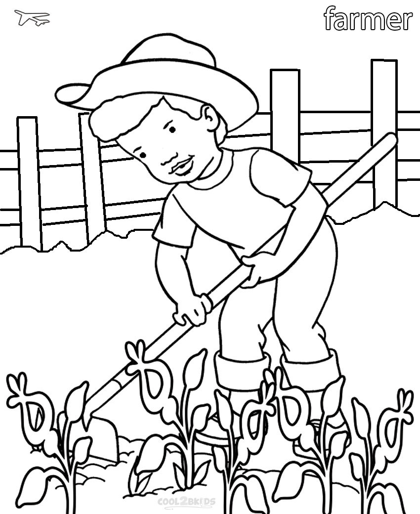 850x1040 Printable Community Helper Coloring Pages For Kids Cool2bkids