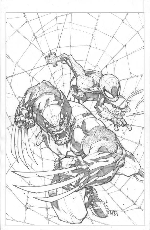 626x960 Savage Wolverine Pencilsjoe Madureiram Comic Art Community