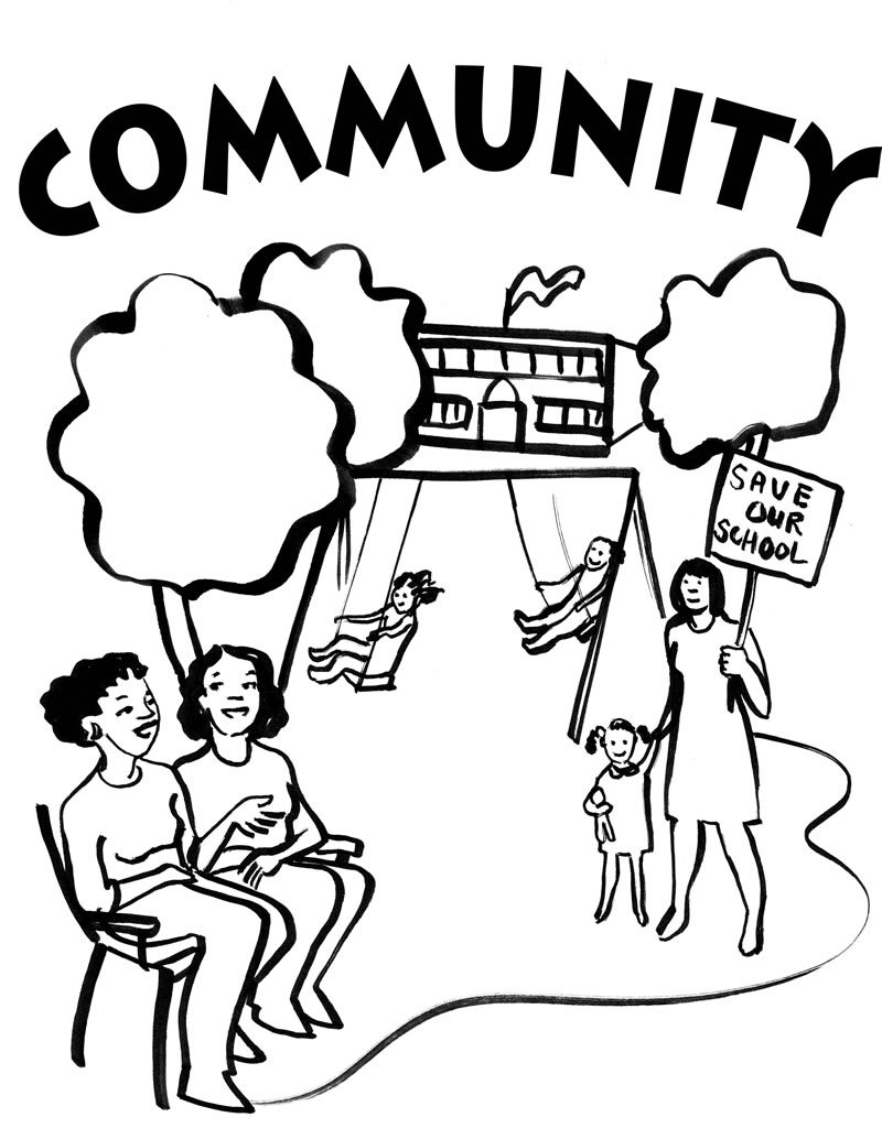 800x1024 Community Coloring Pages People Power Coloring Pages