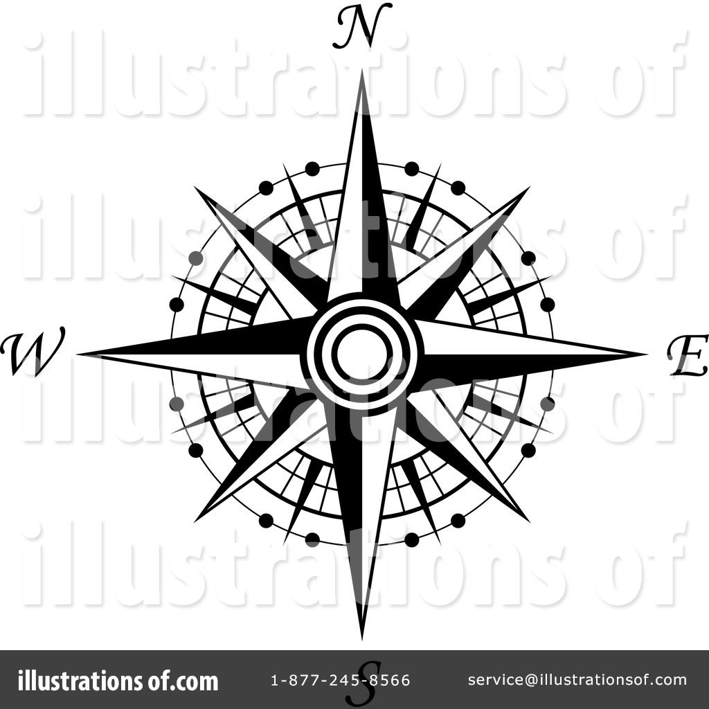 1024x1024 Compass clipart vector