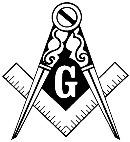 450x493 Masonic Clip Art and Freemason Symbols