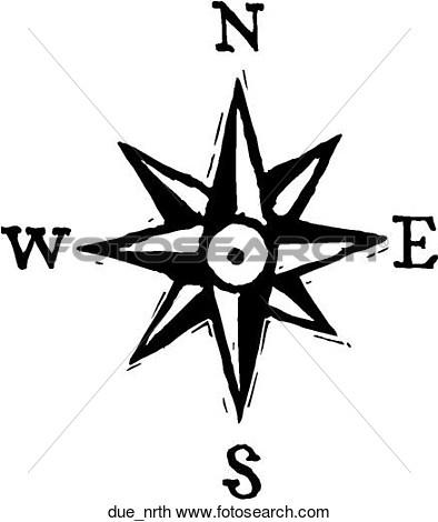 394x470 Compass Clip Art