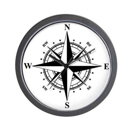 460x460 Compass Clocks Compass Wall Clocks Large, Modern, Kitchen Clocks