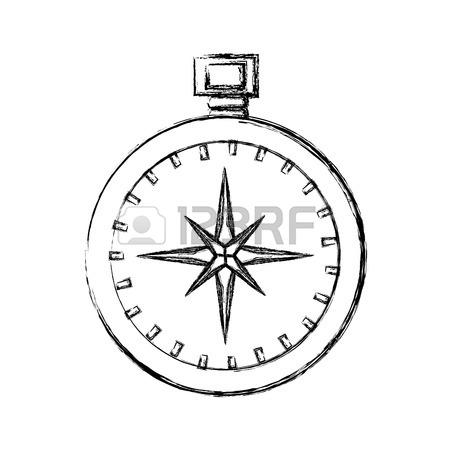 450x450 Compass Travel Navigation Icon Vector Illustration Graphic Design