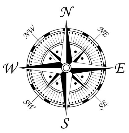 417x432 Drawn Compass Classic