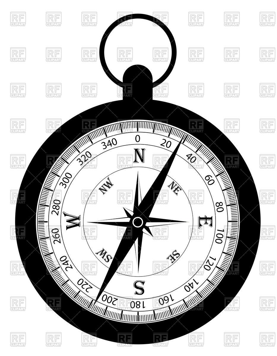 933x1200 Retro Compass Royalty Free Vector Clip Art Image