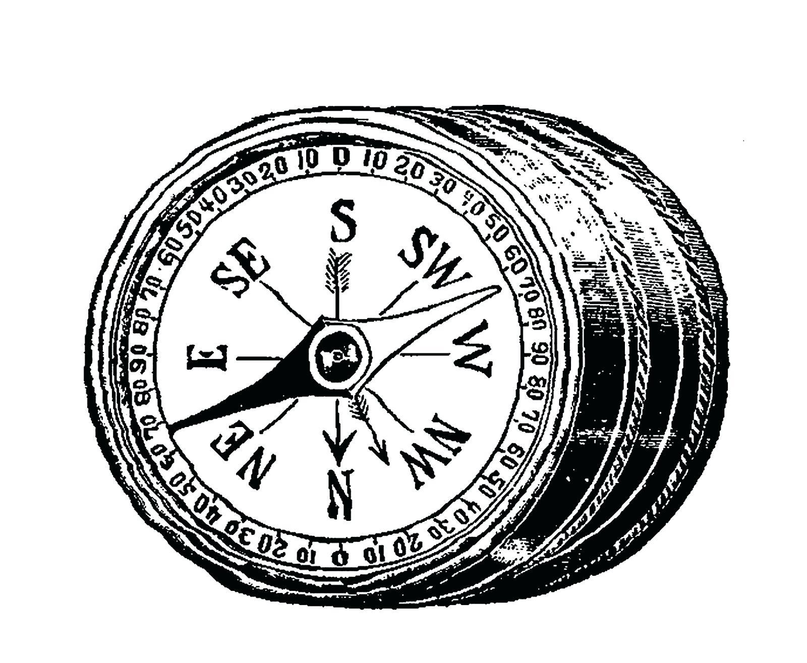 1600x1315 Printable Printable Degree Wheel Compass Antique Images Vintage