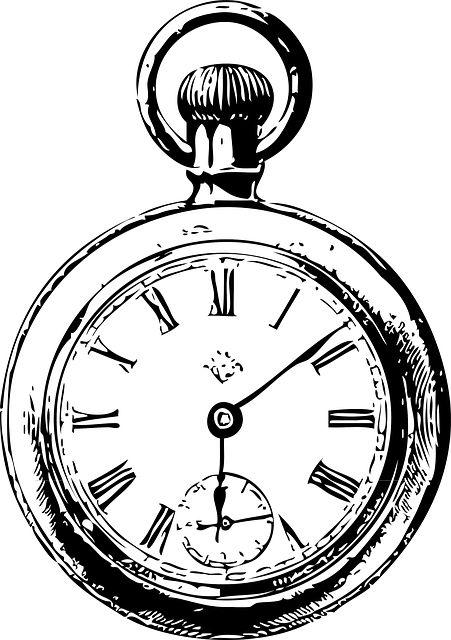 451x640 Clock Sketch