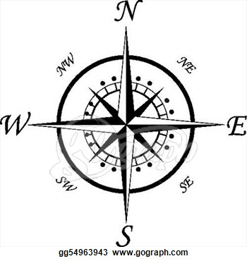350x370 Compass And Map Clipart Compass Symbol Tattoo