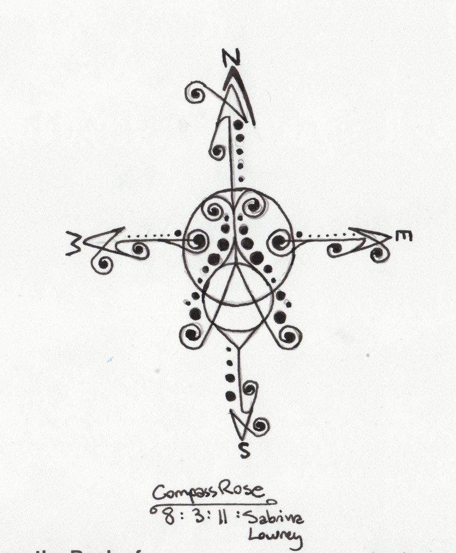 900x1090 Compass Rose By Flight Of Chaciydah