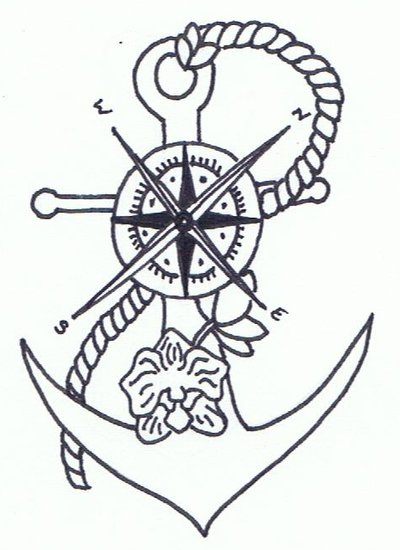 400x550 Compass Anchor By Mystistine