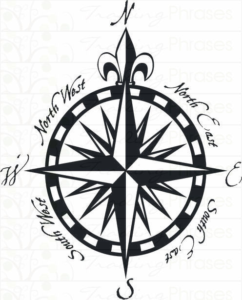 496x615 Fancy Compass Drawings