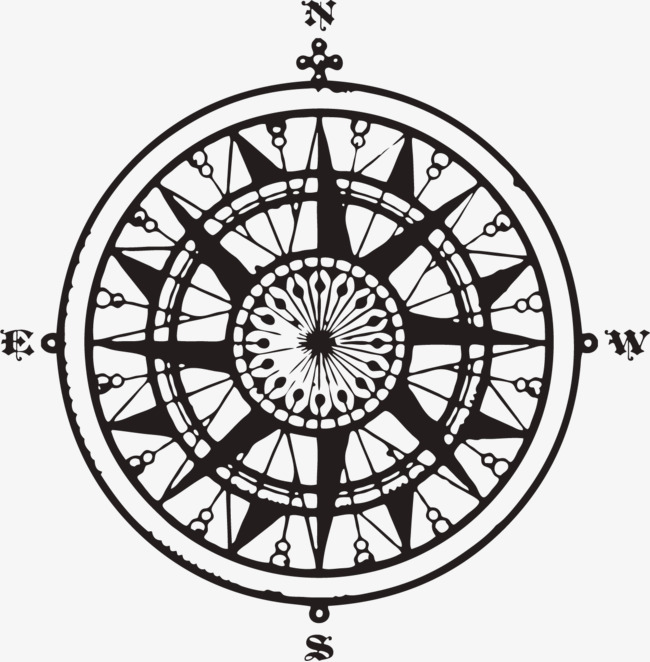 650x662 Line Drawing Compass, Constellation, Compass, Line Drawing Png