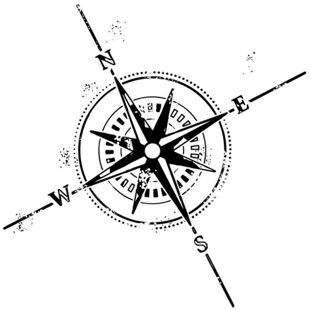 1024x1024 Best 25 Compass Tattoo Design Ideas On Watercolor