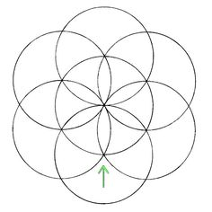 236x236 Flower Of Life How To Draw Compass, Draw And Sacred