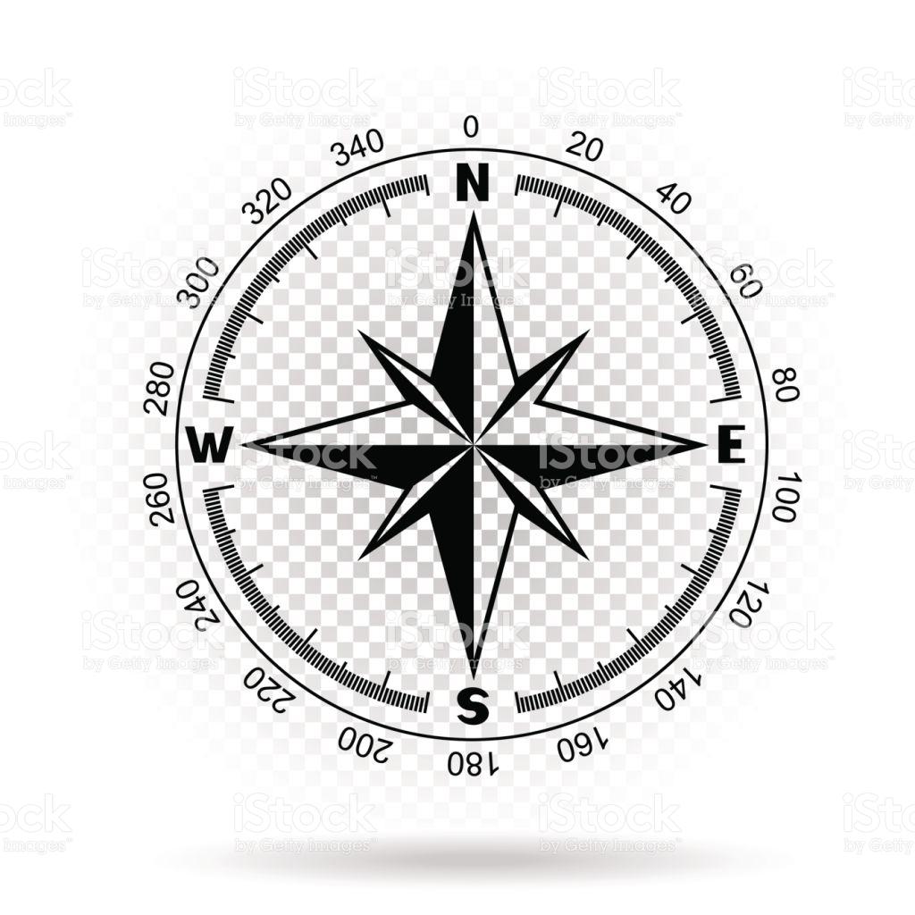 1024x1024 Compass Clipart Transparent Background