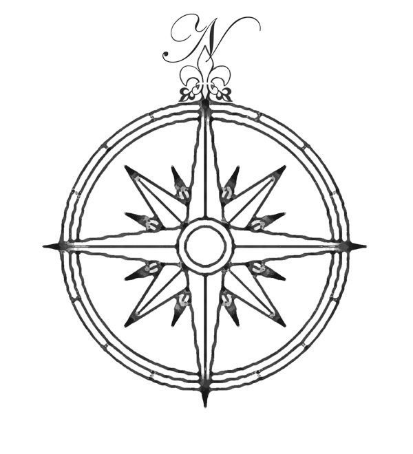 600x660 22 Best Compass Rose Images On Compass, Compass Rose