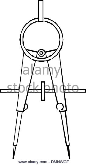 283x540 Drawing Compass Black And White Stock Photos Amp Images