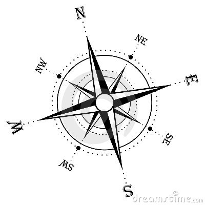 400x400 Color, Collage, And Much More Compass Rose Designs On Metal
