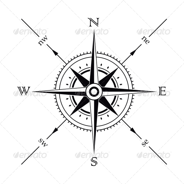 590x590 Compass Compass, Compass Tattoo And Tattoo