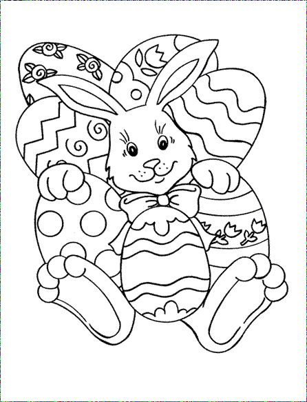 446x583 14 Best Easter Colouring Competition Images