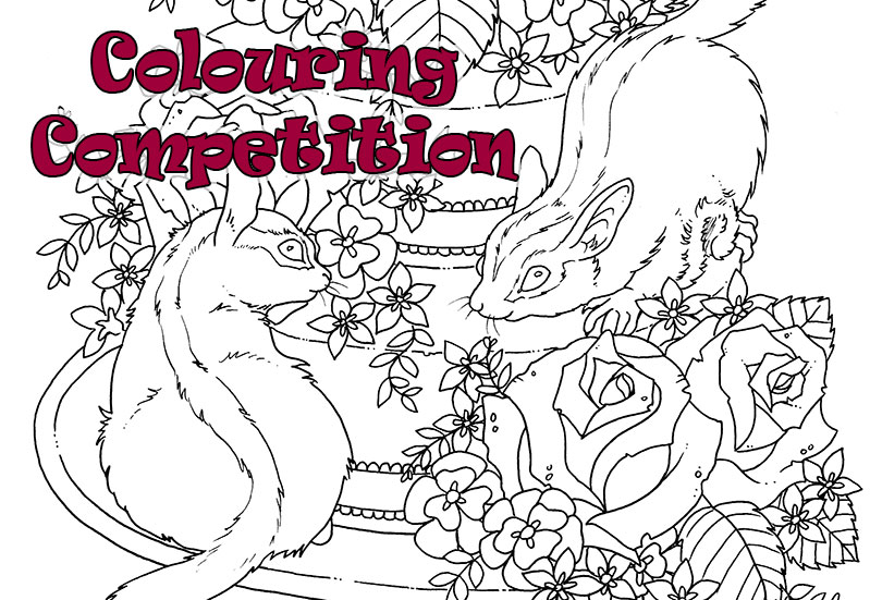 799x551 Colouring Competition For The Month Of June! La Artistino Peta