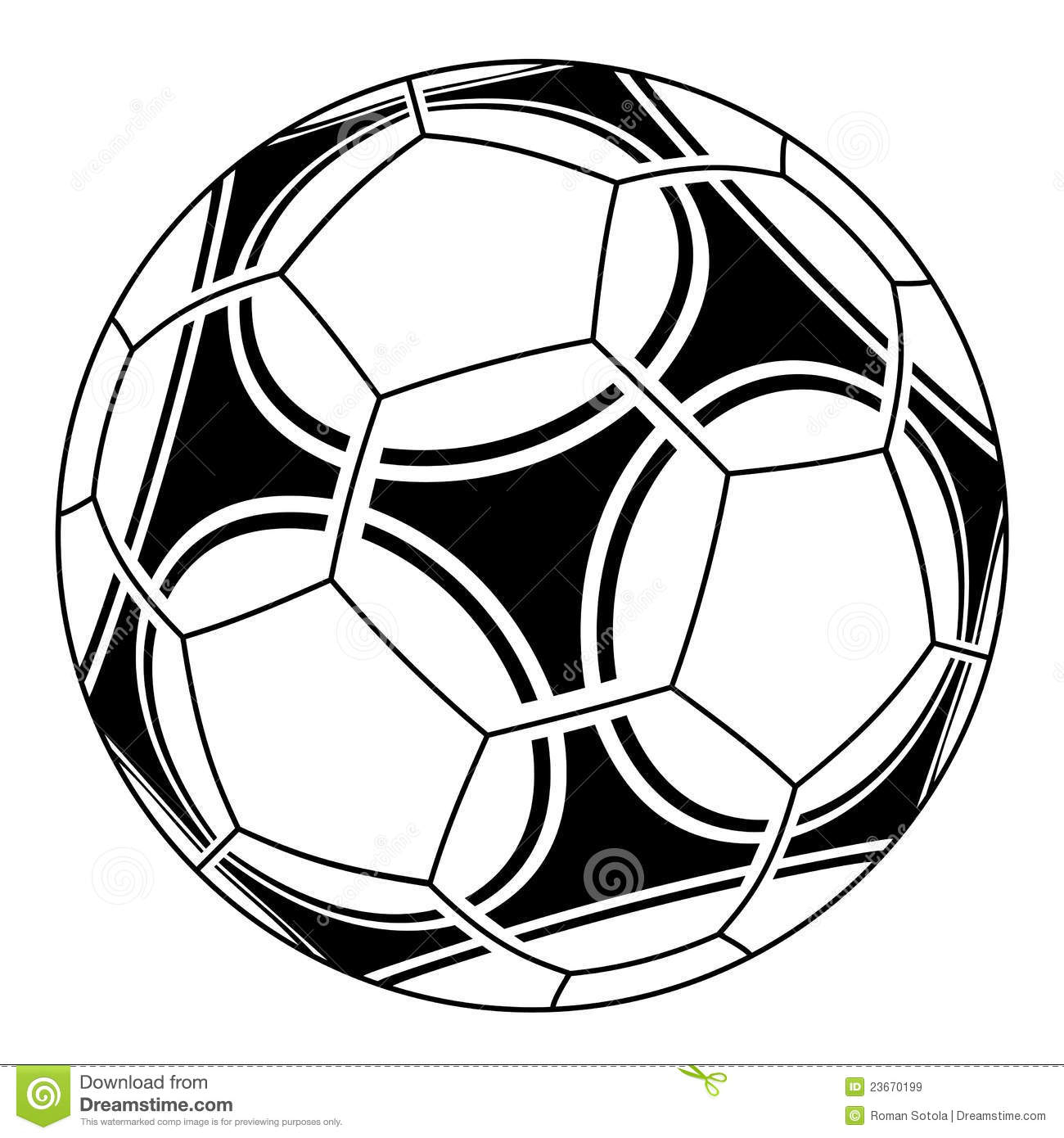1300x1390 Cool Soccer Drawings Soccer Ball Stock Vector. Image Of Icon