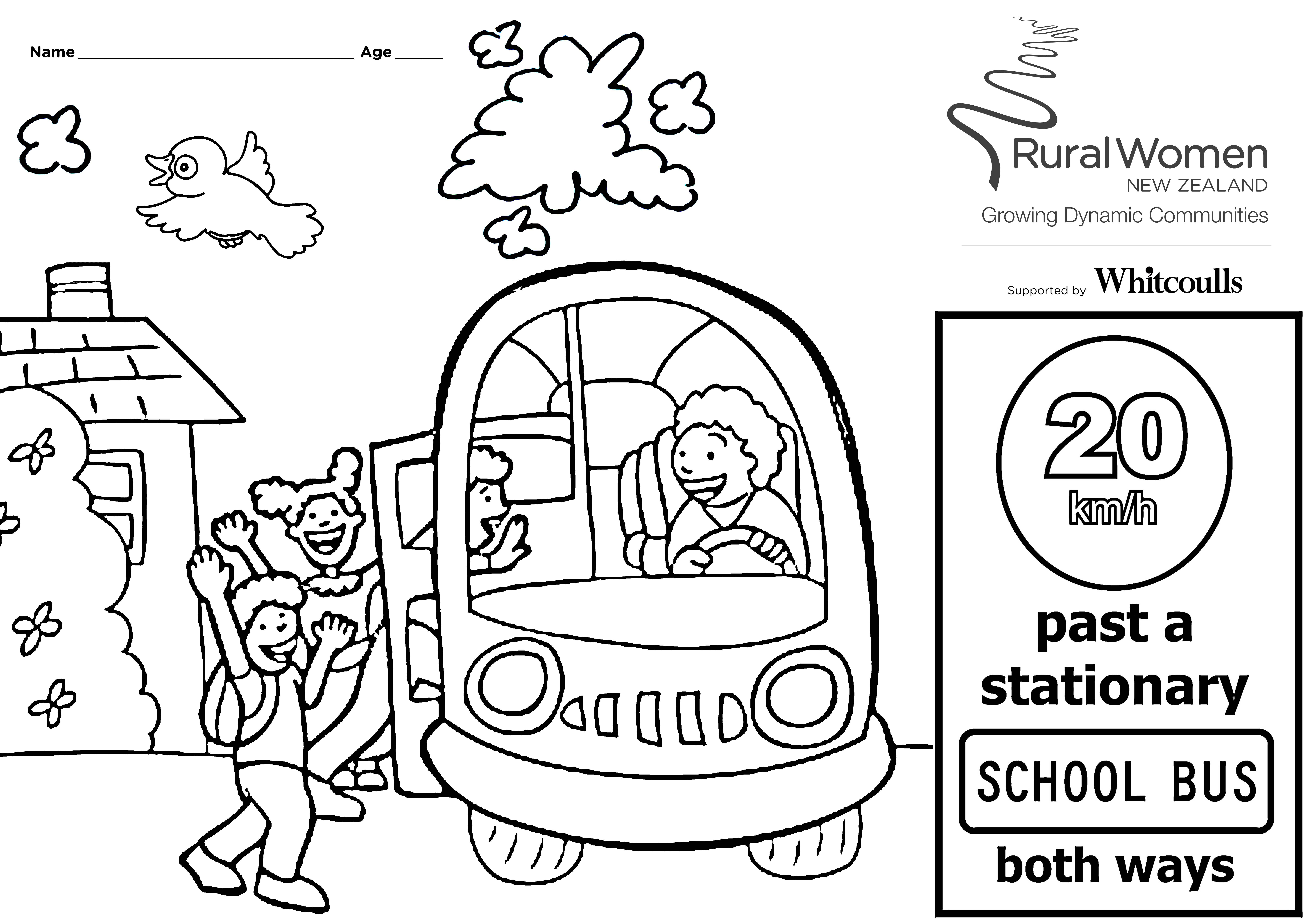 8419x5953 Rwnz Road Safety Colouring Competition 04 Jun 2012