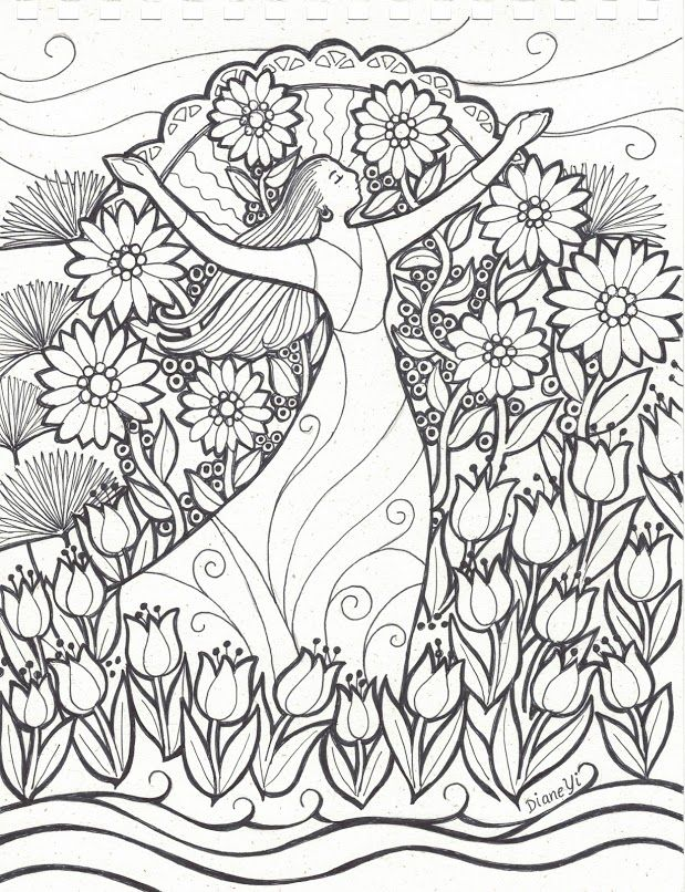 619x806 1771 Best Coloring Pages Images On Coloring Books