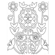 230x230 Top 20 Free Printable Pattern Coloring Pages Online