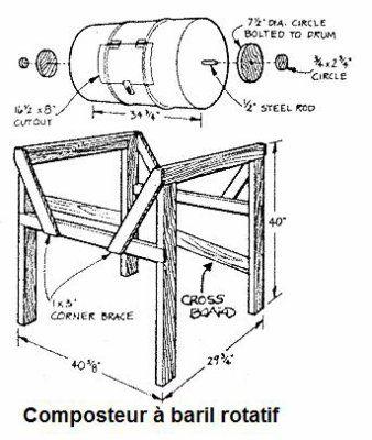Compost Bin Drawing