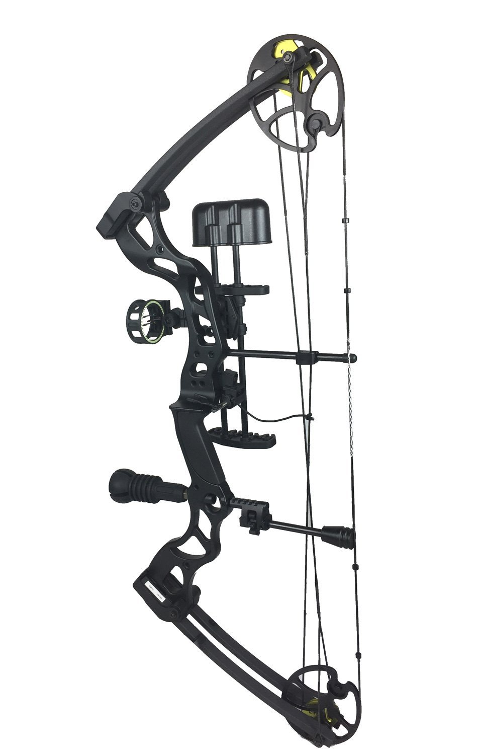 955x1500 Asd Black Pro Series Adult Archery Compound Bow 70lbs Complete