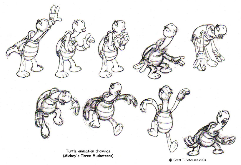 819x563 Interview With Animator Scott T. Petersen Traditional Animation