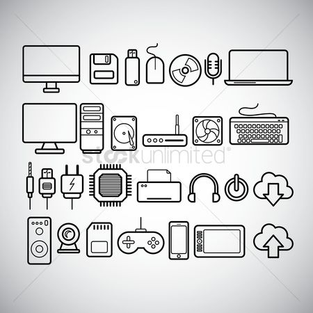 450x450 Free Computer Chip Stock Vectors Stockunlimited