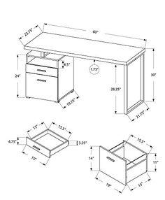 236x286 Desks Commercial Amp Home Computer Desks Atg Stores Desks