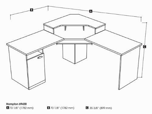 500x375 Awesome Walmart Corner Computer Desk Decoration Home Decor