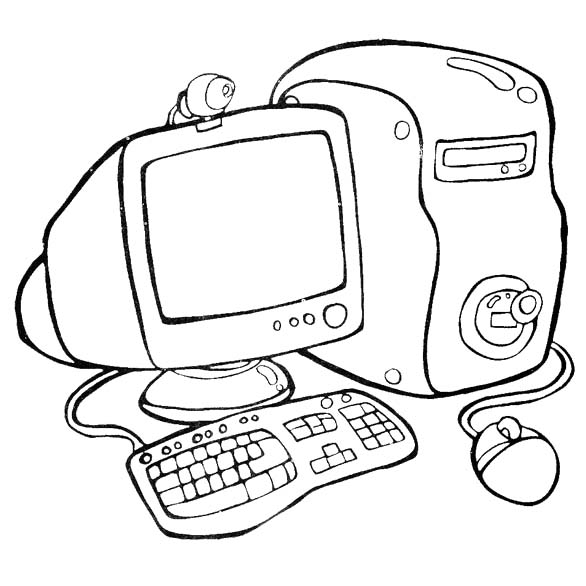 Computer Drawing For Kids at GetDrawings | Free download