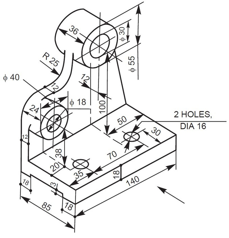 771x800 Engineering Drawing Assignment