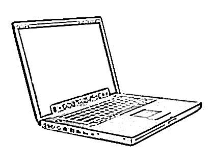 420x330 Notebook Computer Technology Sketch