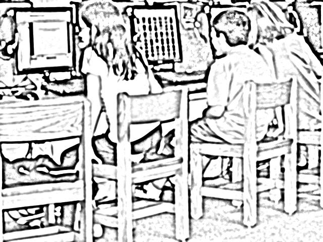 640x480 Lake Ridge Computer Lab