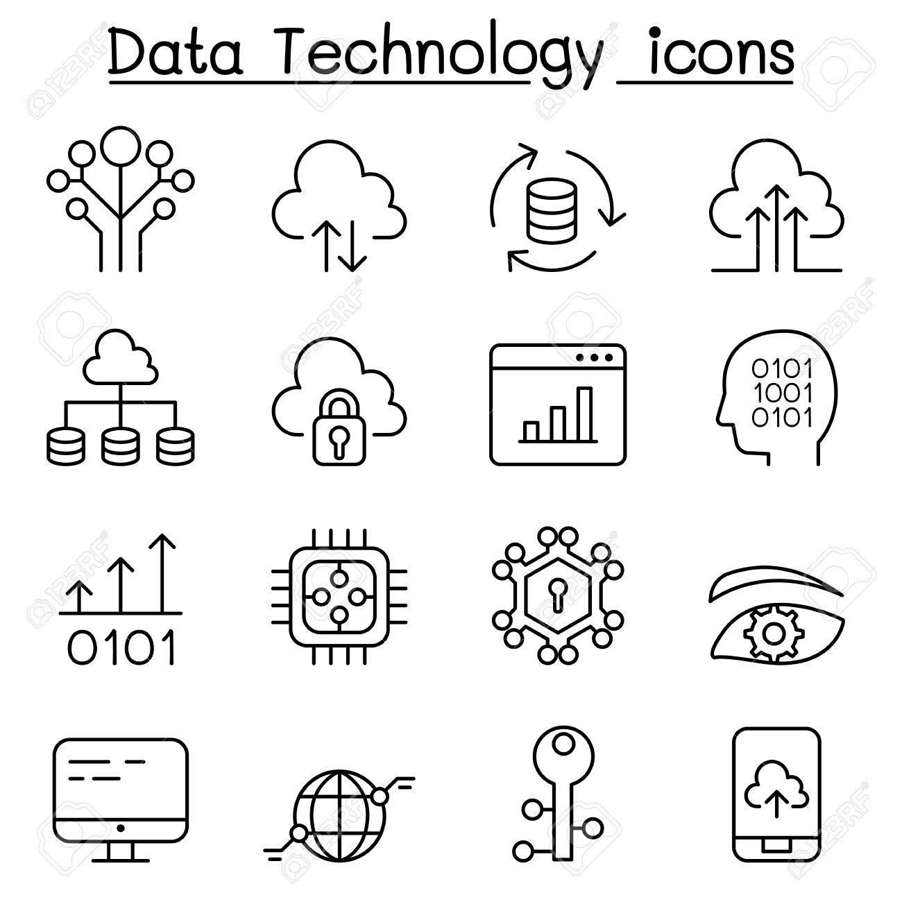 1300x1300 Data Technology, Database, Cloud Computing, Server, Computer