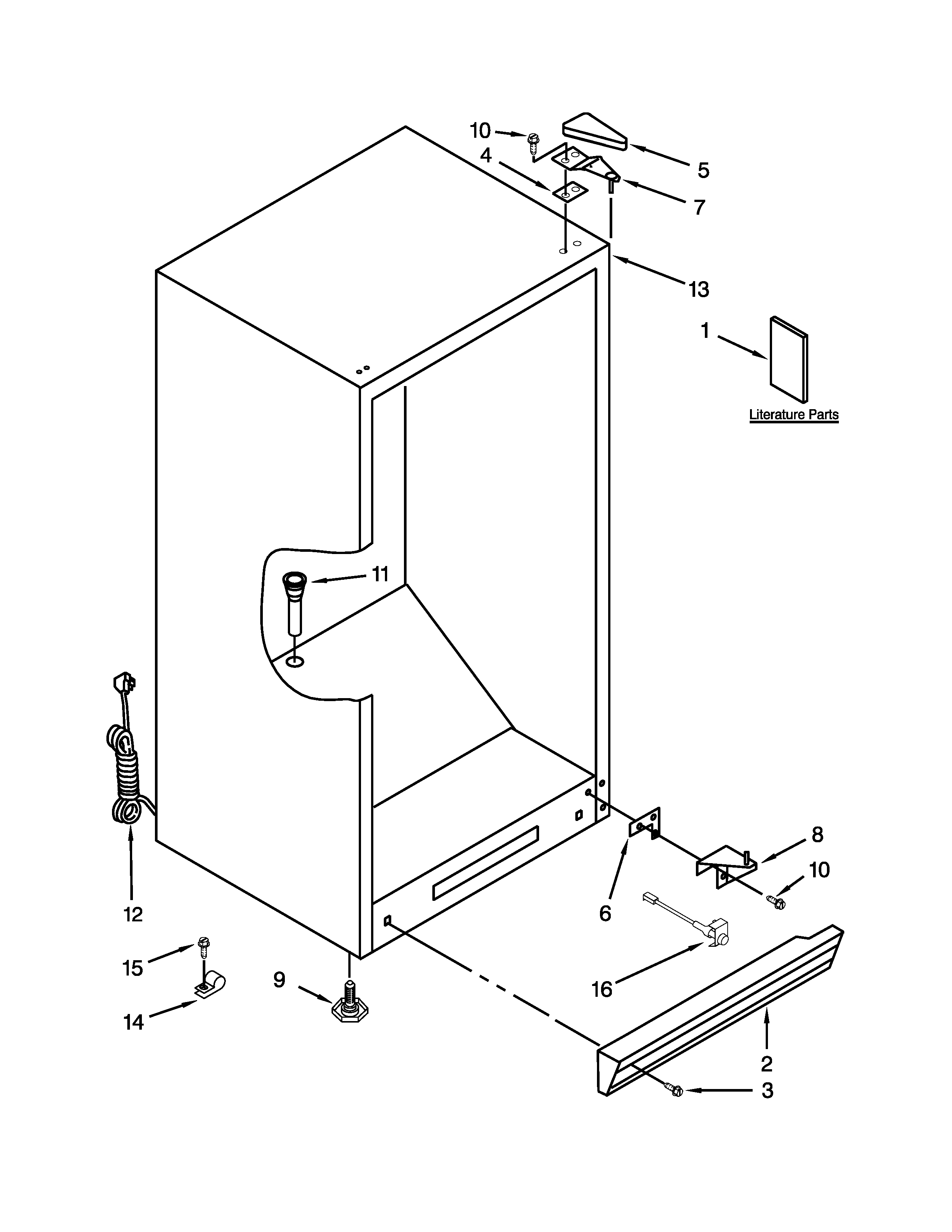 Computer Parts Drawing At Free For Personal Use Diagram Kids Your Hardware 2550x3300 Whirlpool Vertical Freezer Model Ev250nxtq01 Sears