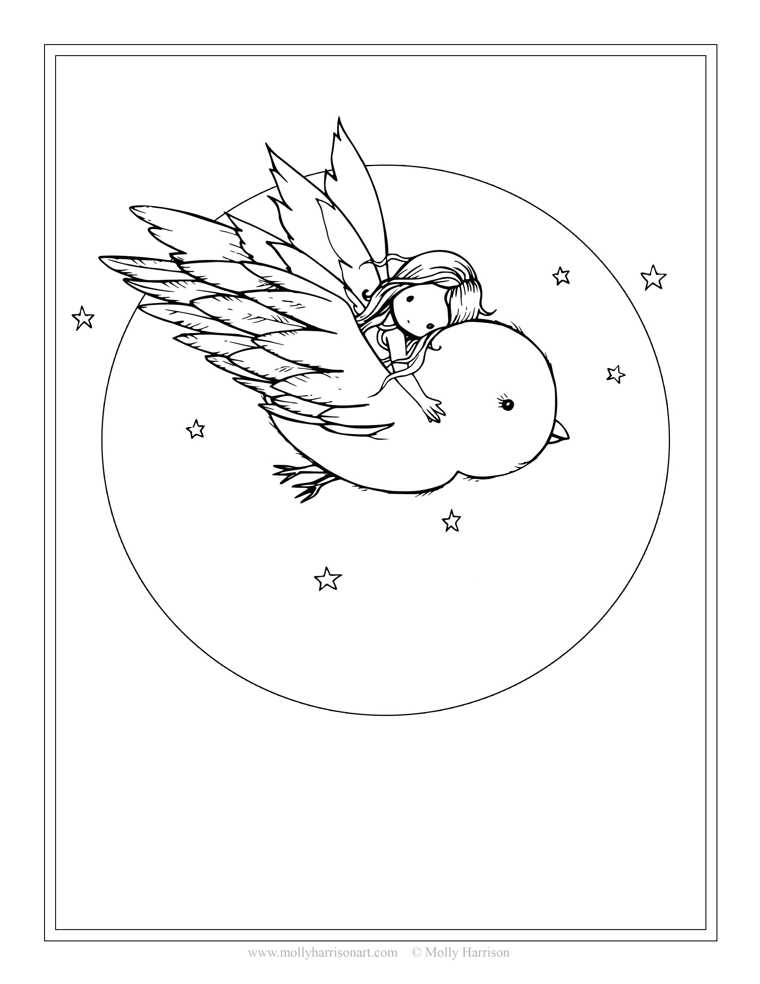 2550x3300 Coloring Computer Coloring Page