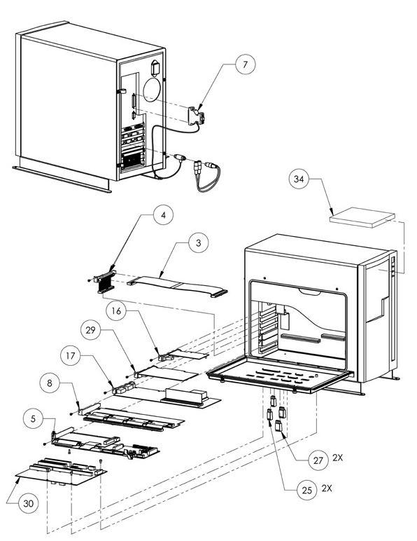 computer parts drawing at getdrawings com