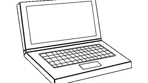 500x280 Computer Coloring Computer Coloring Pages Also Awesome Computer